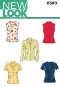 6598 New Look Pattern: Misses' Tops